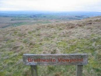 Bruthwaite Way Marker