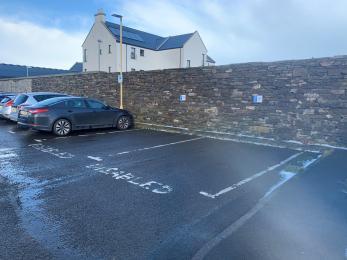 Burgh Road car park disabled spaces