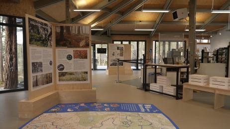 Open-plan Nature Centre