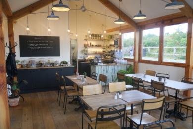 cafe interior, good access