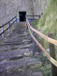 Steps to Castle entrance doorway