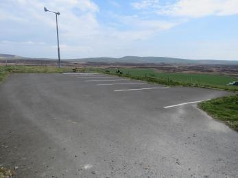 RSPB Cottascarth and Rendall Moss reserve car park