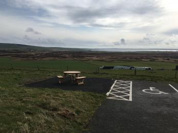 Cottascarth car park picnic area
