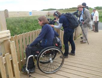 Viewpoint - disabled viewing bay