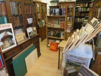 Inside the Bookshop.