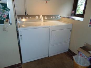 Laundry facilities are across the road with our other cottages