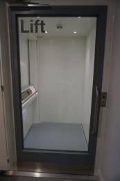 Museum Lift Door