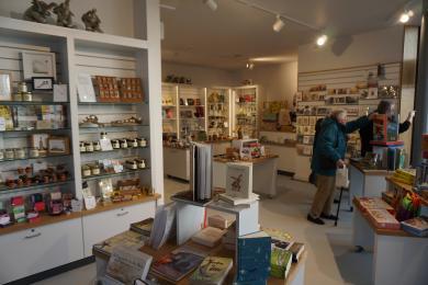 Photo of shop area.
