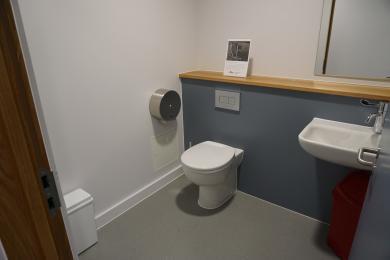 Photo of first floor toilet