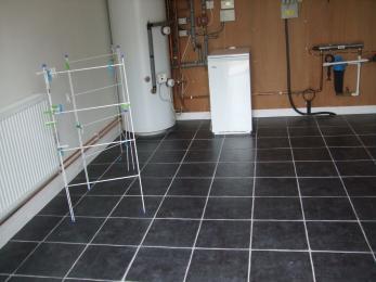 Boiler/drying room