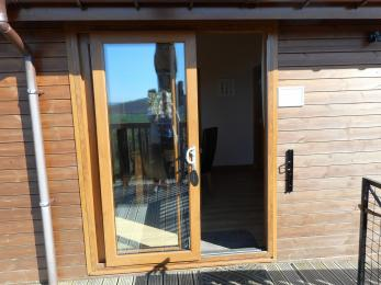 Tawny Lodge First Set of Patio Doors