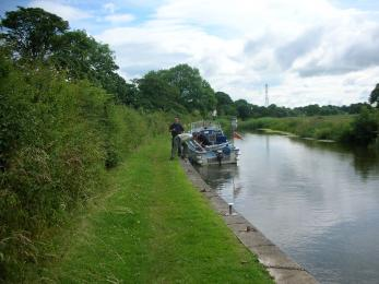 Canal towpath