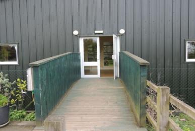 Entrance to Elephant House