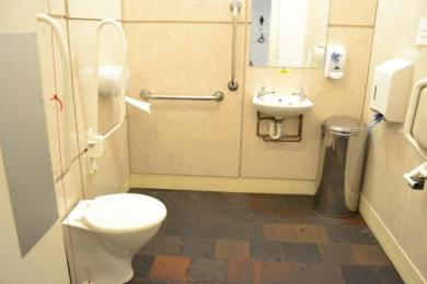 Mill Café disabled toilet