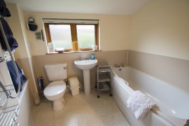 Cob Cottage Bathroom