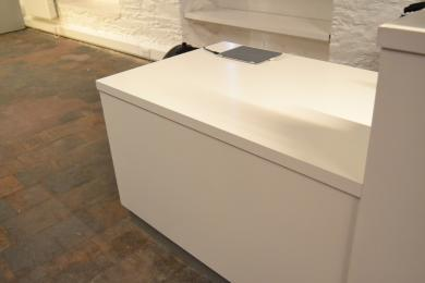 Lower section of Exhibition Gallery Reception Desk - 76cm high