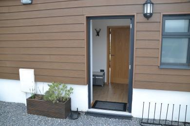 Front Entrance door of Piglet Cottage