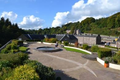 New Lanark Roof Garden