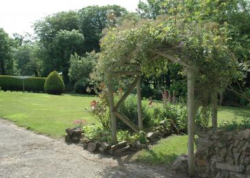 Second view of the garden