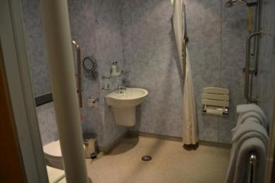 Family Accessible Room Bathroom