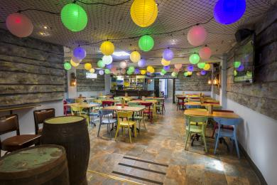Interior of Pentewan Plaice