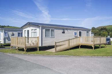 Exterior of accessible holiday home