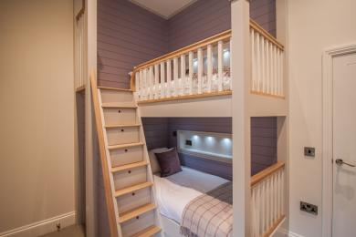 Bunk Beds in Dalby Cottage
