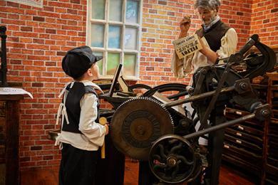 Davison's Print Shop, Bailiffgate