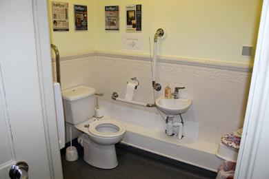 Disabled Toilet Bailiffgate Museum