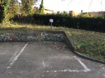 Designated disabled parking