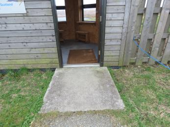 Door in to Birsay Moors Hide