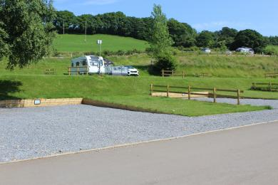Our Easy Access Hardstanding touring pitches