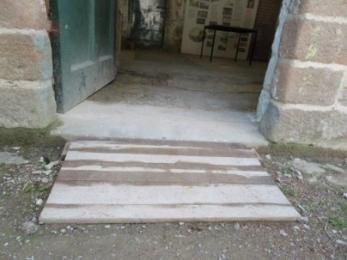 Doorway to the Education Room.