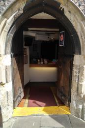 Main entrance doorway