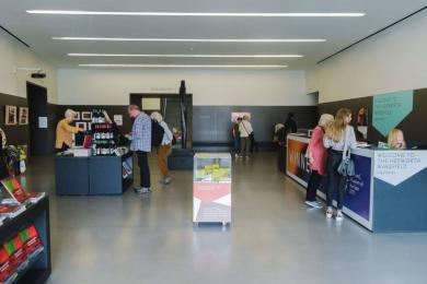 The Hepworth Wakefield's foyer