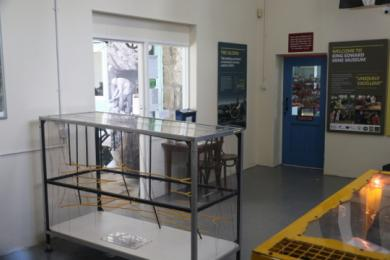 showing clear route from the entrance to reception