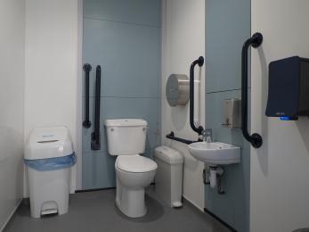 Ground Floor Accessible toilet