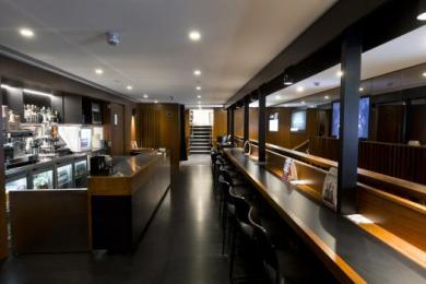 Image of second floor mezzanine bar.