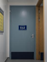 Toilet door - width 920mm