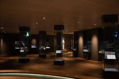 The last section of our gallery again, looking towards the exit.
