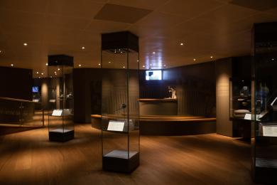 The last section of our gallery, including our 'pod' area.