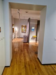 Doorway into the second gallery
