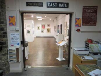 Entrance into the gallery 1630mm