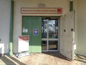 Head of Steam Darlington Railway Museum front door