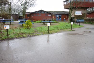 Disabled car park bays