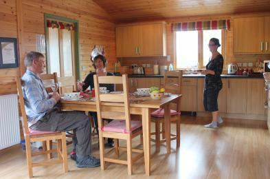 Daisybank open plan kitchen