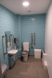 Aspects Building diabled toilet and baby changing facility