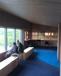 Wildlife Watchpoint interior