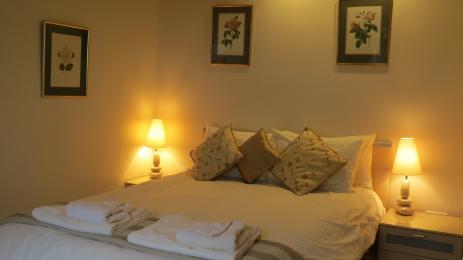 Bedroom 1 with 5' divan bed