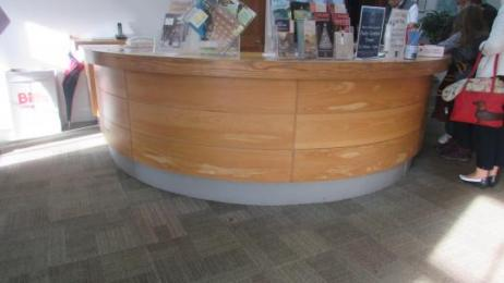 The Visitor Attraction Reception Desk
